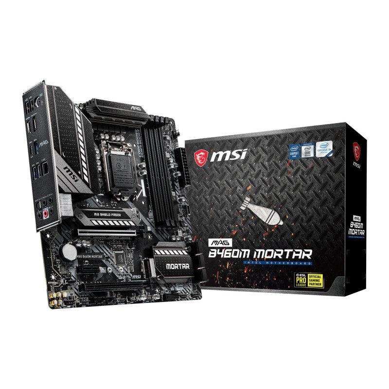 MSI Intel B460M MORTAR M-ATX Motherboard