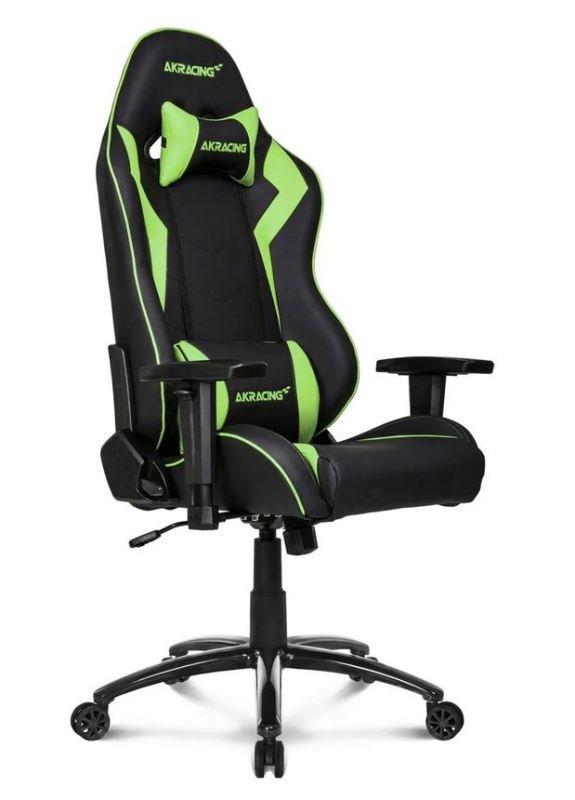 AKRacing Core Series SX BLACK/GREEN Gaming Chair