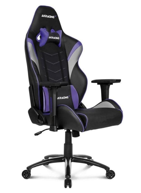 Image of AKRacing Core Series LX BLACK/INDIGO Gaming Chair