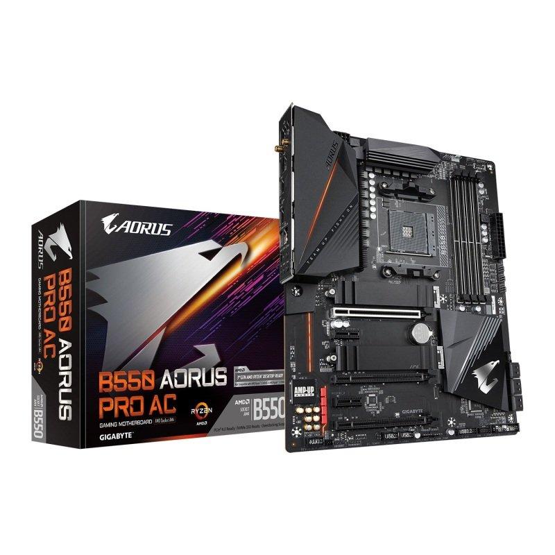Gigabyte AMD B550 AORUS PRO AC ATX Motherboard