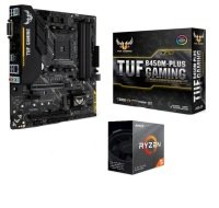Asus TUF B450M-PLUS GAMING mATX Motherboard with AMD Ryzen 5 3600 AM4 CPU/ Processor Bundle