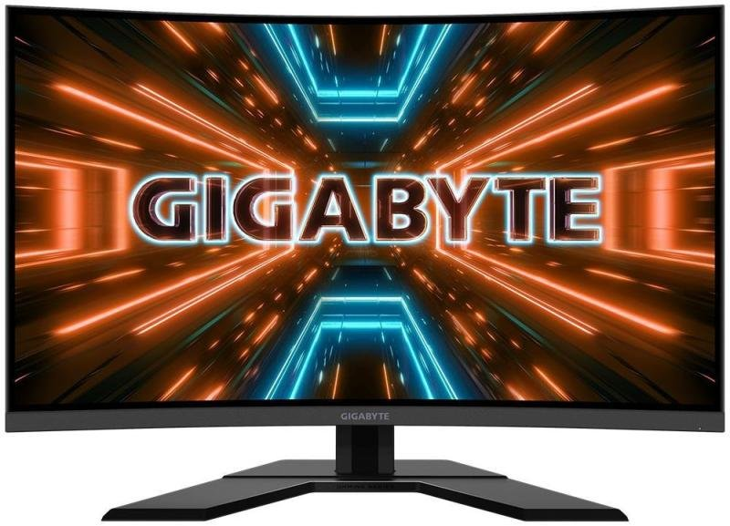 """Image of Gigabyte G32QCA Gaming Monitor 31.5"""" QHD VA 1500R Monitor"""