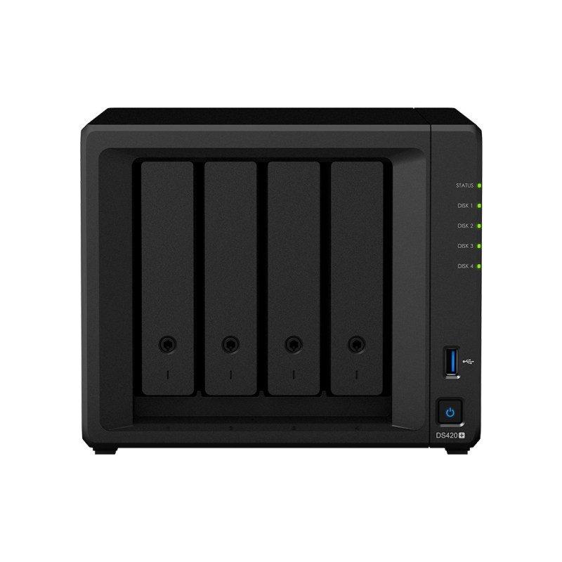 Synology DS420+ 4-Bay Desktop NAS (Network-Attached Storage) Enclosure