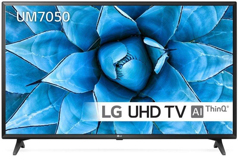 """LG 49UM7050 49"""" Ultra HD 4K HDR Smart TV"""