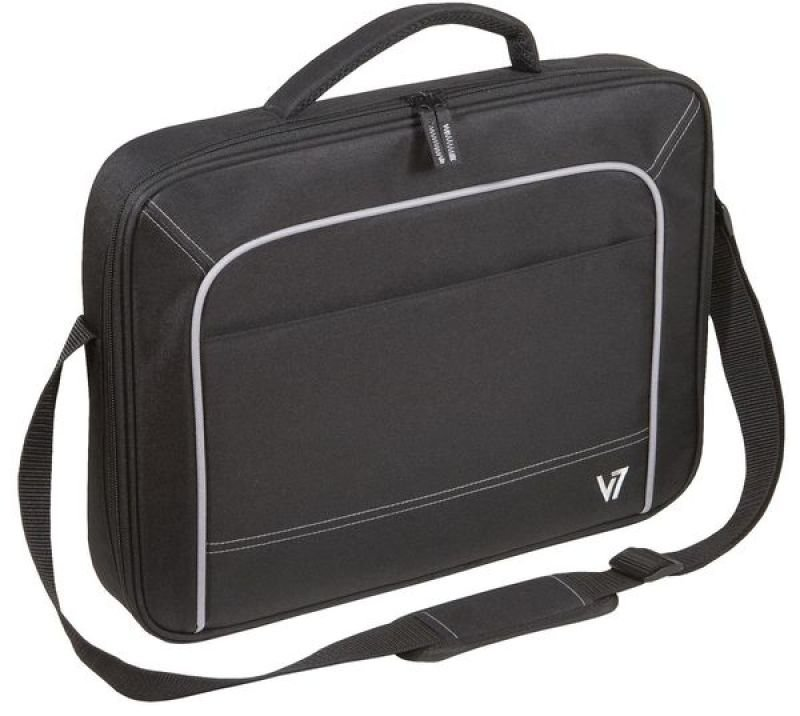 V7 Vantage Front Loader Laptop Case For Laptops up to 17&quot  Black