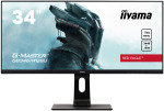 "Iiyama GB3461WQSU-B1 34"" UWQHD 144Hz 1ms Gaming Monitor with FreeSync Premium"