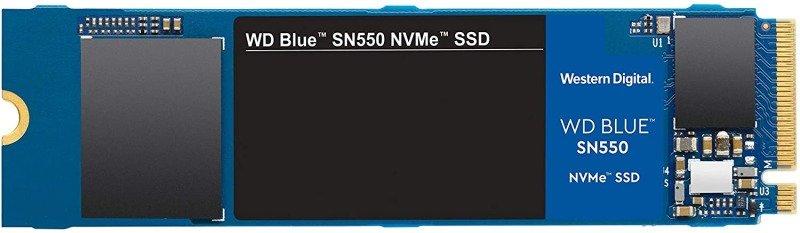 WD Blue SN550 500GB NVME M.2 2280 PCIe Gen3 SSD