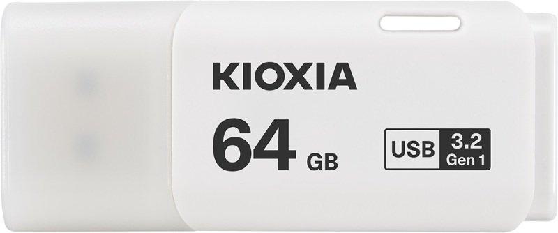 Image of Kioxia 64GB TransMemory U301 USB3 White
