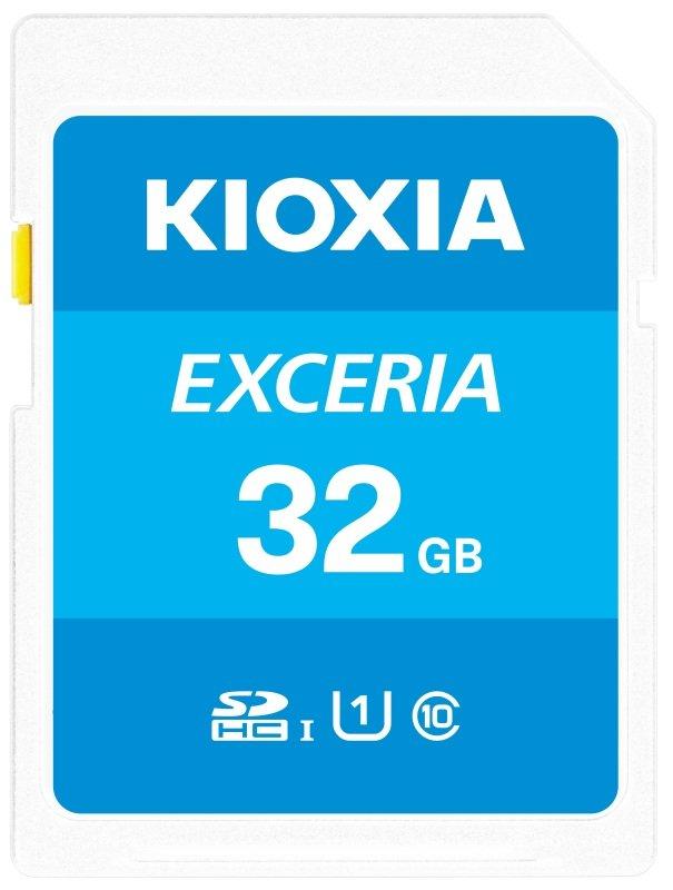 Image of Kioxia 32GB Exceria U1 Class 10 SD card