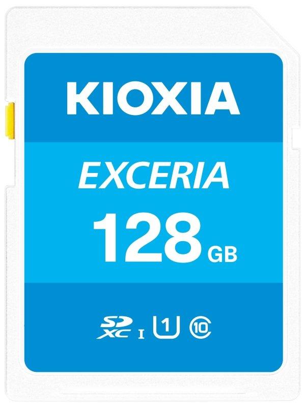 Image of Kioxia 128GB Exceria U1 Class 10 SD card