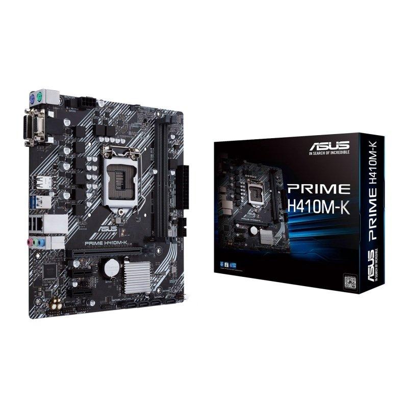 Asus Intel PRIME H410M-K LGA 1200 mATX Motherboard