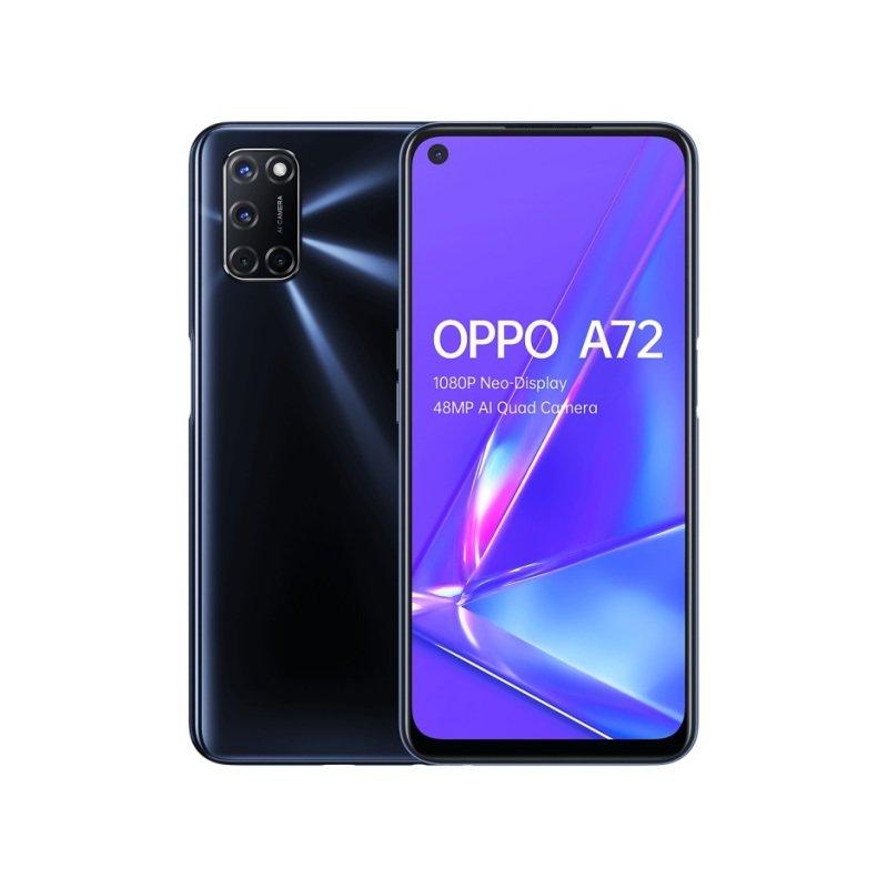 OPPO A72 - 4GB + 128GB Qualcomm Snapdragon 665 mobile platform 6.5 inch 5000 mAh Dual-Sim 48MP Camera