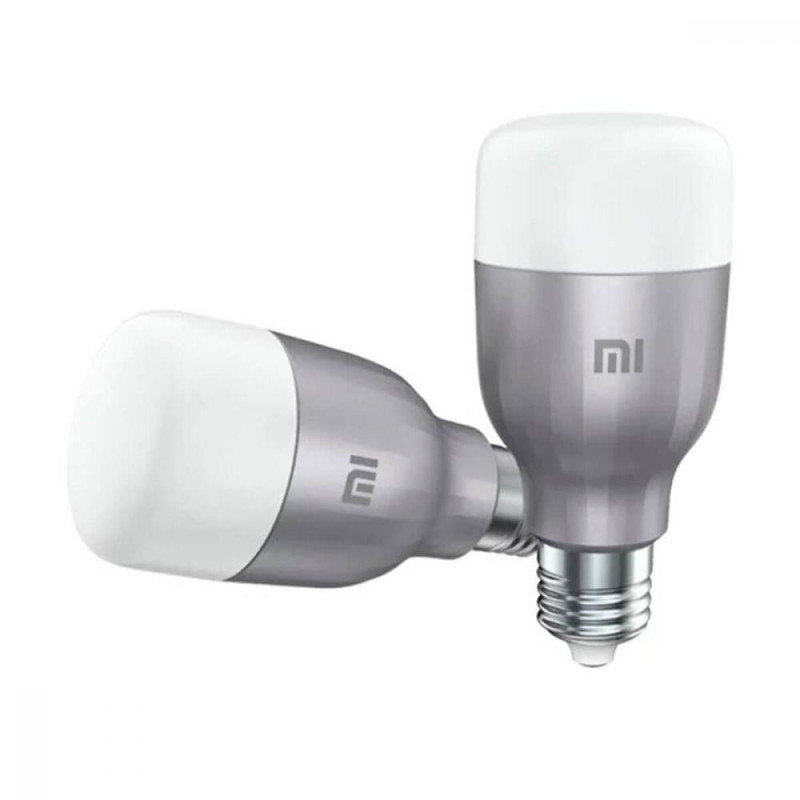 Xiaomi Mi LED White and Colour Smart Bulb Twin Pack - Works with Alexa and Google Assistant