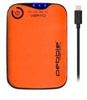 Veho Pebble Verto Pro Power Bank - 3,700mAh - Orange