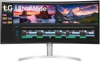 """LG 38WN95C-W 38"""" UltraWide QHD+ Curved Nano IPS Display"""