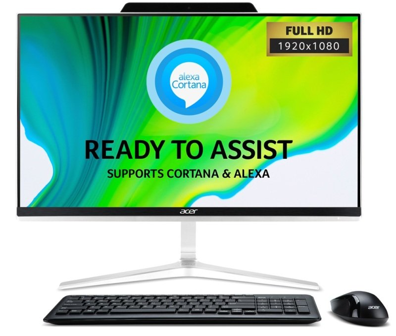 Click to view product details and reviews for Acer Aspire Z24 891 Aio Desktop Pc Intel Core I5 9400t 18ghz 8gb Ddr4 1tb Hdd 238 Full Hd Touch Dvdrw Intel Uhd Wifi Windows 10 Home.