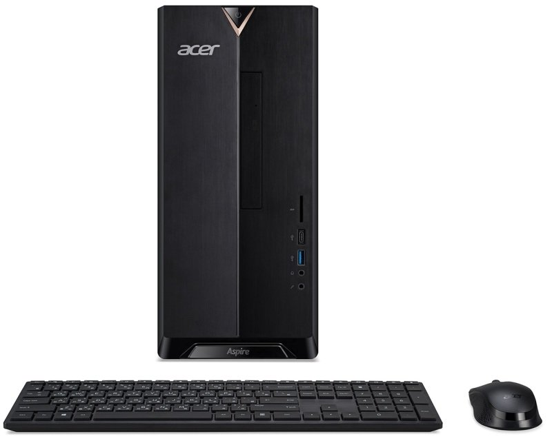 Image of Acer Aspire TC-895 MT Desktop PC, Intel Core i5-10400 2.9GHz, 8GB RAM, 1TB HDD, DVDRW, Intel UHD, WIFI, Windows 10 Home