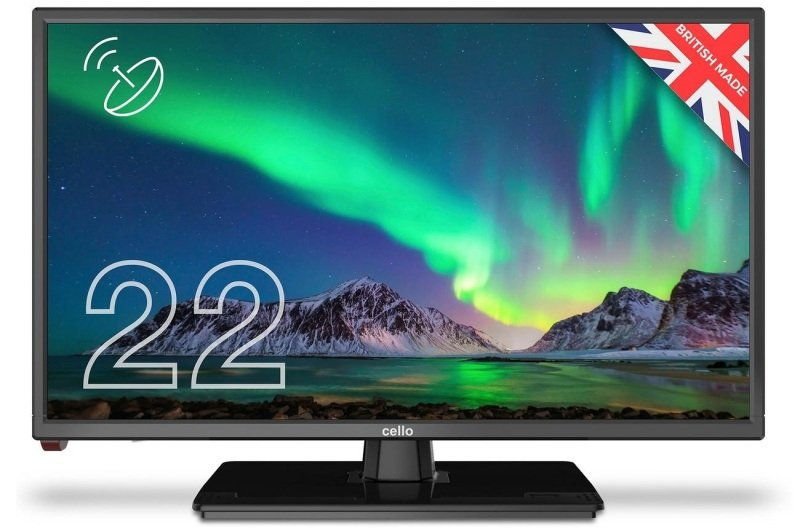 "Image of Cello C2220S 22"" Full HD TV with Freeview HD & Satellite Tuner"