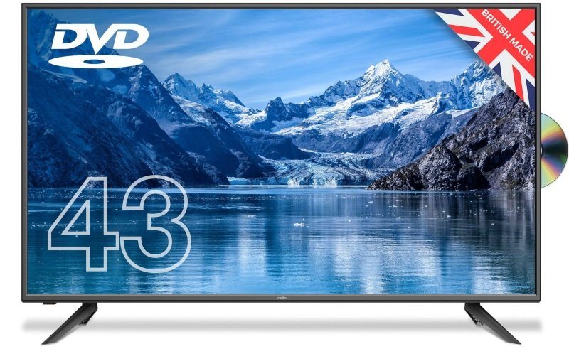 """Cello C4320F 43"""" Full HD LED TV With DVD Player and Freeview T2 HD"""