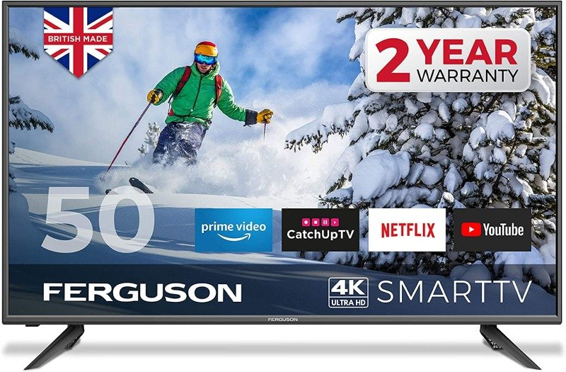 "Image of Ferguson F50RTS4K 50"" 4K Ultra HD LED Smart TV"