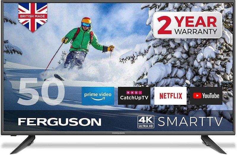 """Ferguson F50RTS4K 50"""" 4K Ultra HD LED Smart TV"""