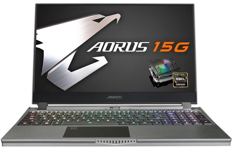 "Aorus 15G Core i7 16GB 512GB SSD RTX 2080 Super MaxQ 15.6"" Win10 Home Gaming Laptop"