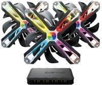 Zalman SF120A3 120mm RGB Case Fan - Triple Pack + Z-Sync Hub