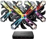 Zalman SF140A3 140mm RGB Case Fan - Triple Pack + Z-Sync Hub