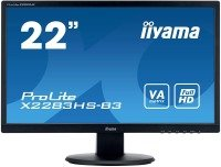 "EXDISPLAY Iiyama X2283HS-B3 22"" LCD Full HD LED VA Monitor"