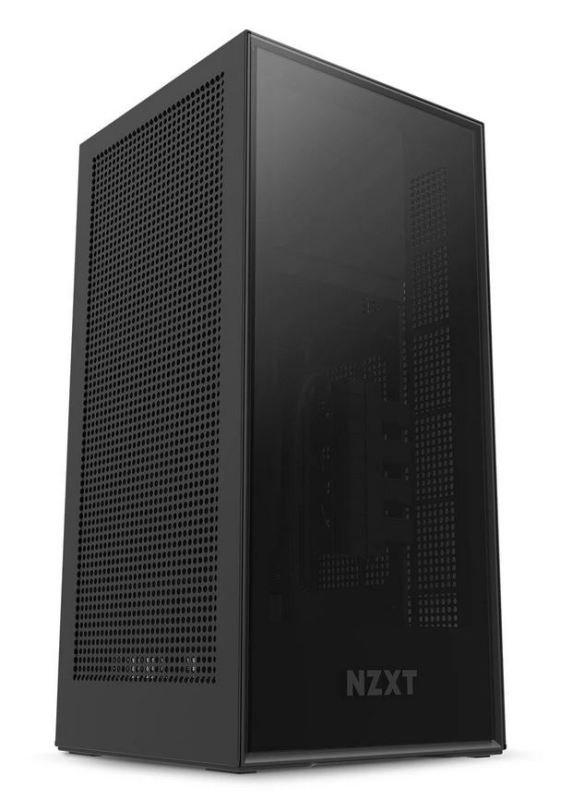 NZXT Black H1 Mini-ITX Windowed PC Gaming Case w/ 650W PSU & AIO