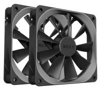 NZXT 120mm Aer F High-Performance Airflow PWM Fan Twin Pack