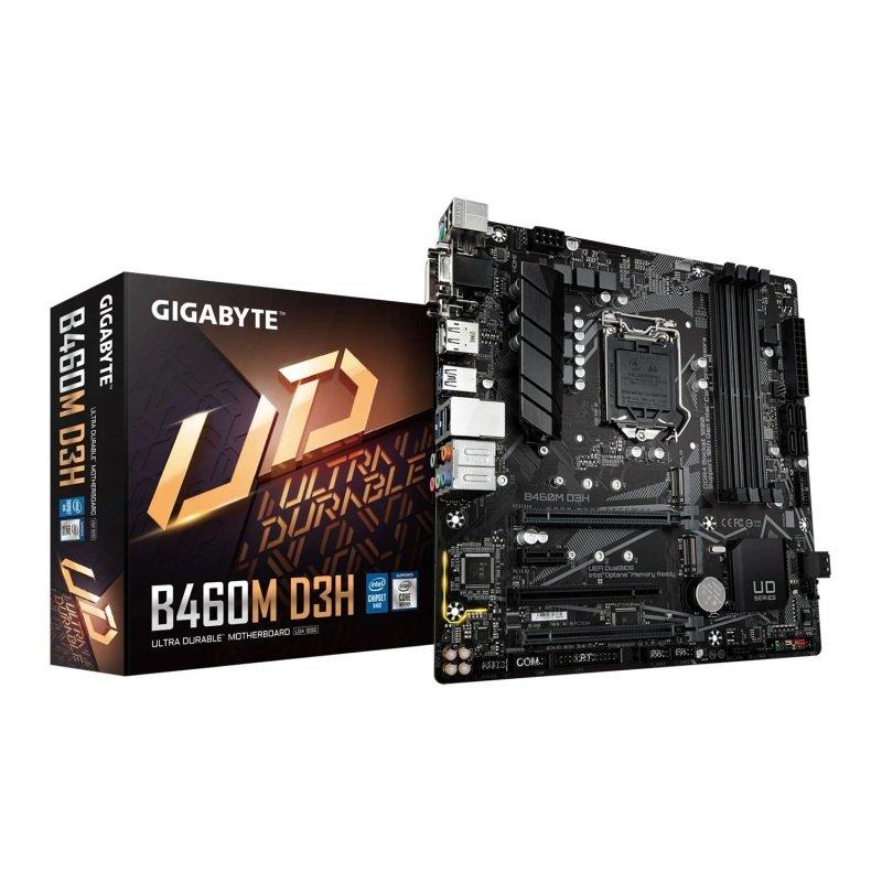 Gigabyte Intel B460 D3H Micro-ATX Motherboard