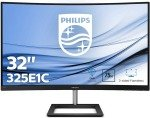 "Philips E-Line 32"" Curved QHD LCD Monitor"