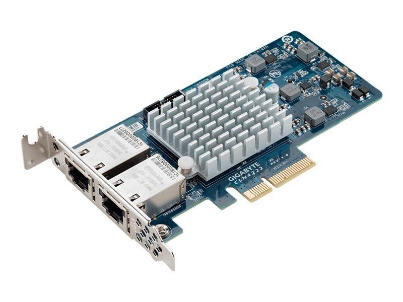 Gigabyte CLN4222 (rev. 1.0) - Network Adapter - Plug-in Card - Low Profile