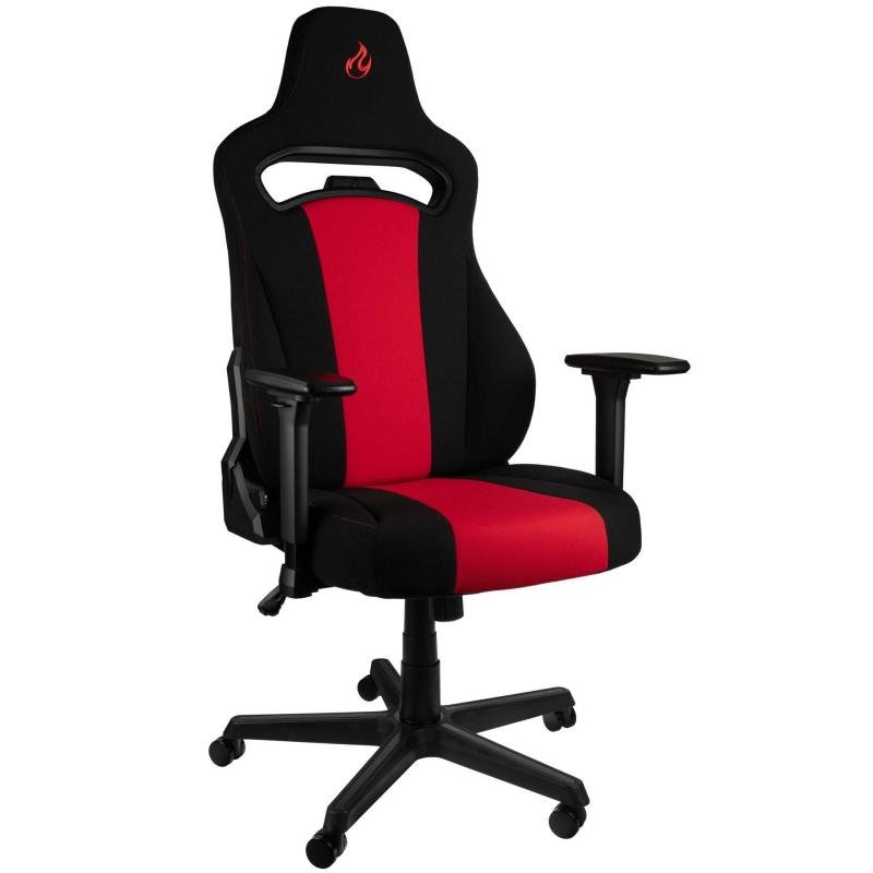 Image of Nitro Concepts E250 Gaming Chair - Black/Red