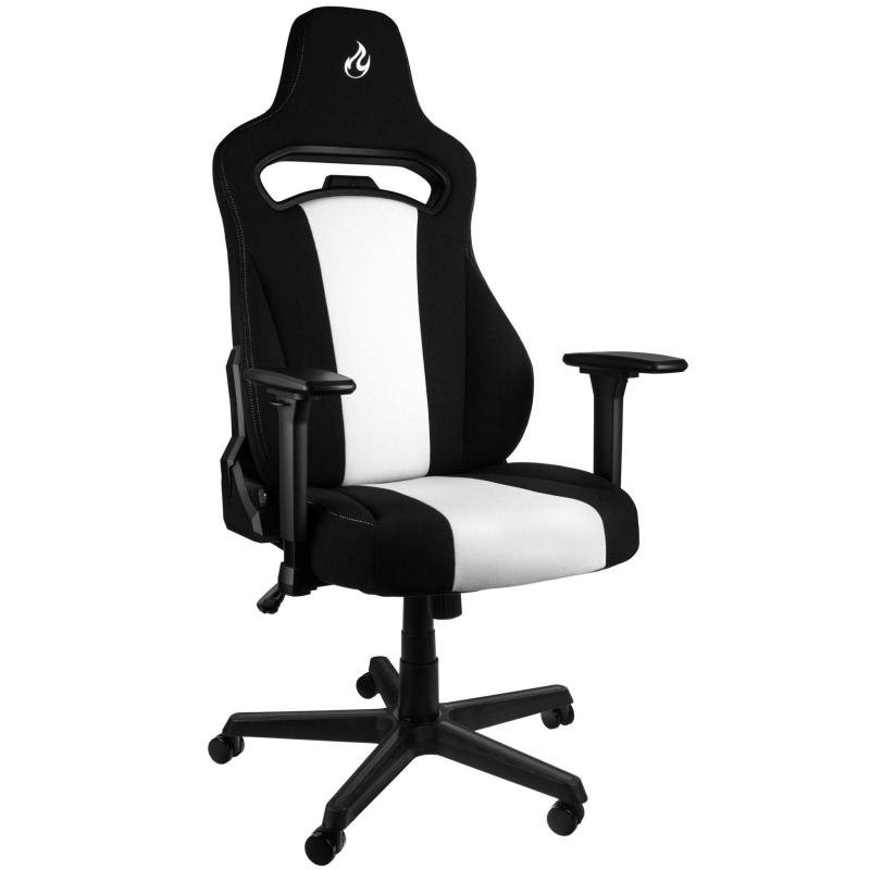Image of Nitro Concepts E250 Gaming Chair - Black/White