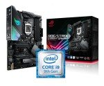 Asus ROG STRIX Z390-F GAMING ATX Motherboard + Intel Core i9 9900K Processor