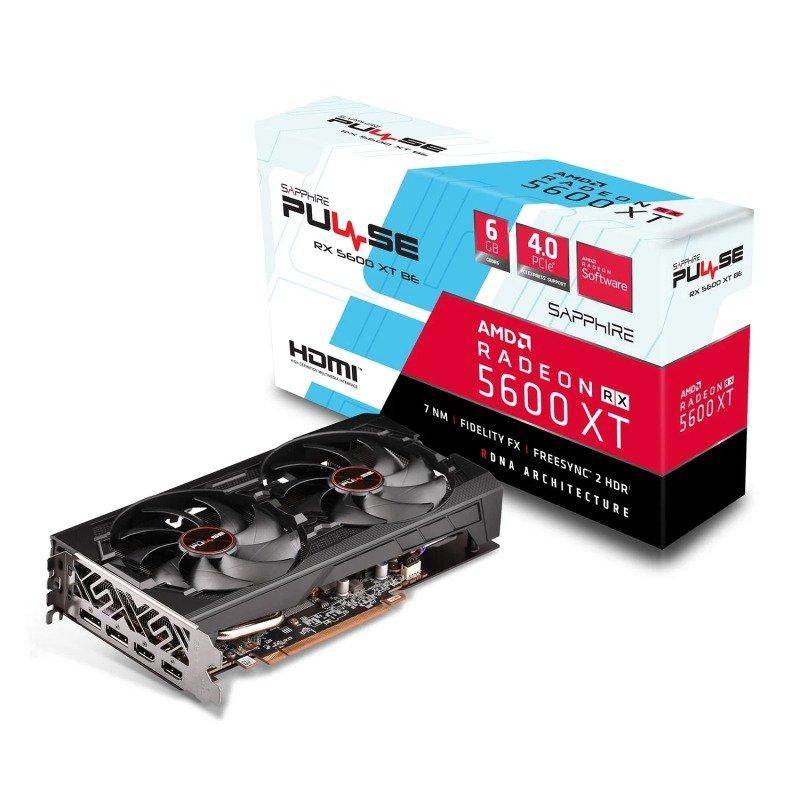 Sapphire Radeon RX 5600 XT PULSE BE 6GB Graphics Card
