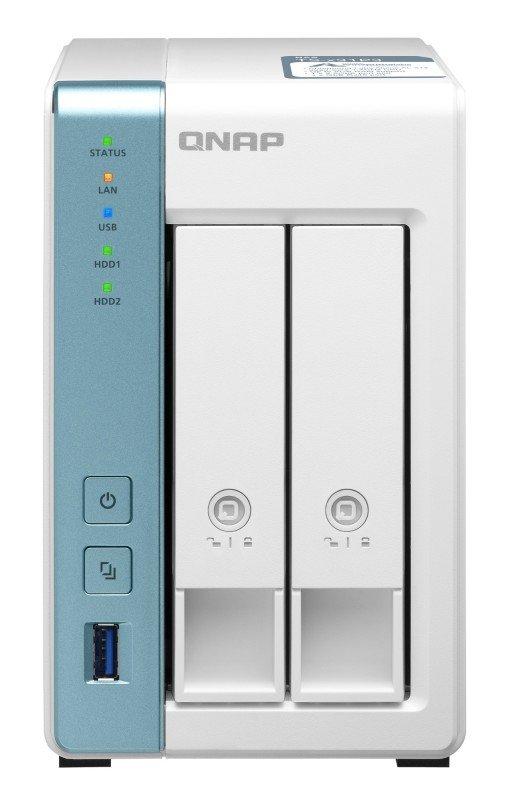 QNAP TS-231P3 - AL314 Ethernet LAN Tower - 2 Bay