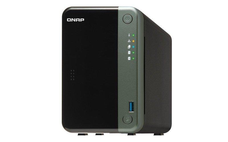 QNAP TS-253D-4G/4TB-IW - J4125 - 2 Bay NAS - Desktop