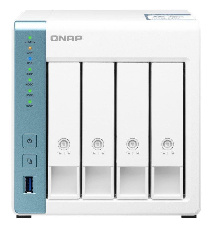 QNAP TS-431P3-2G - AL314 Ethernet LAN - 4 Bay Tower NAS - Desktop