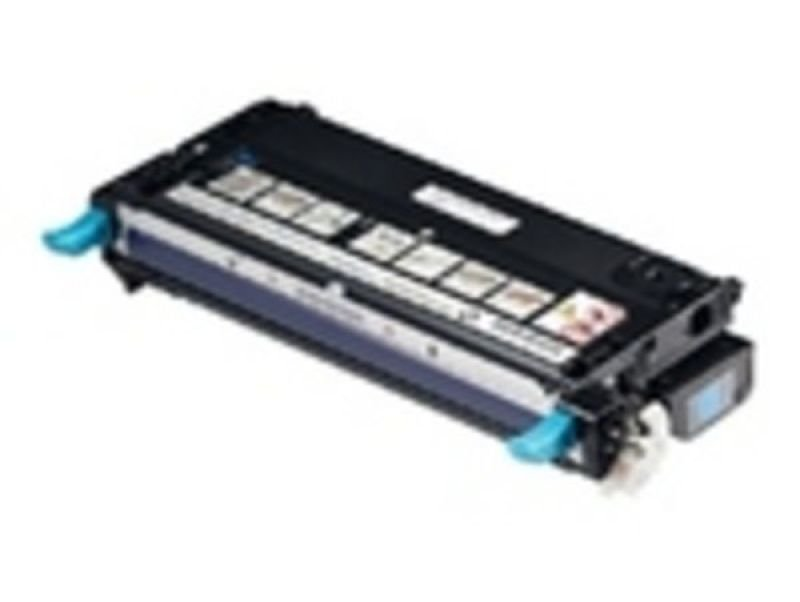 Dell - Toner cartridge - high capacity - 1 x cyan - 8000 pages