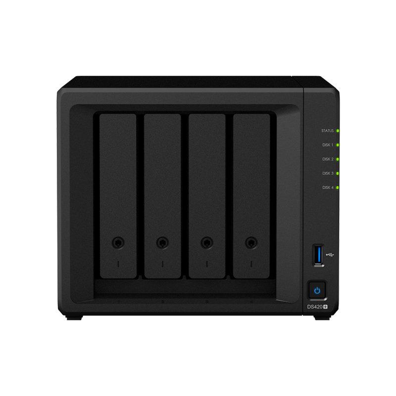 Synology DiskStation DS420+/16TB-RED - J4025 4 Bay NAS Server - Desktop