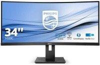 """Philips 345B1C 32"""" WQHD Curved UltraWide LCD display"""