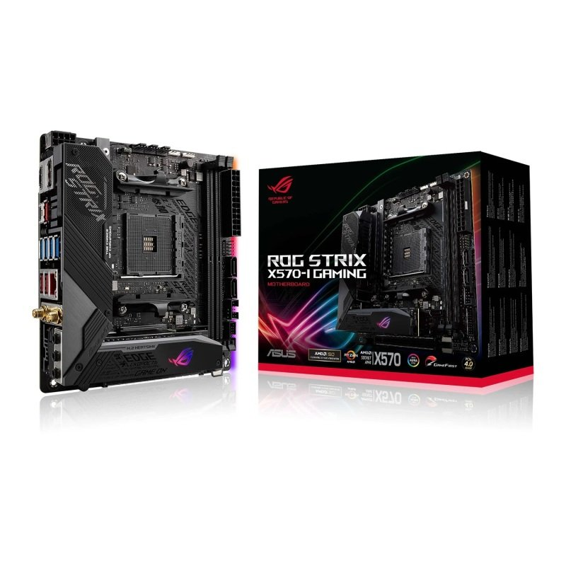 ASUS ROG STRIX X570-I GAMING mITX Motherboard
