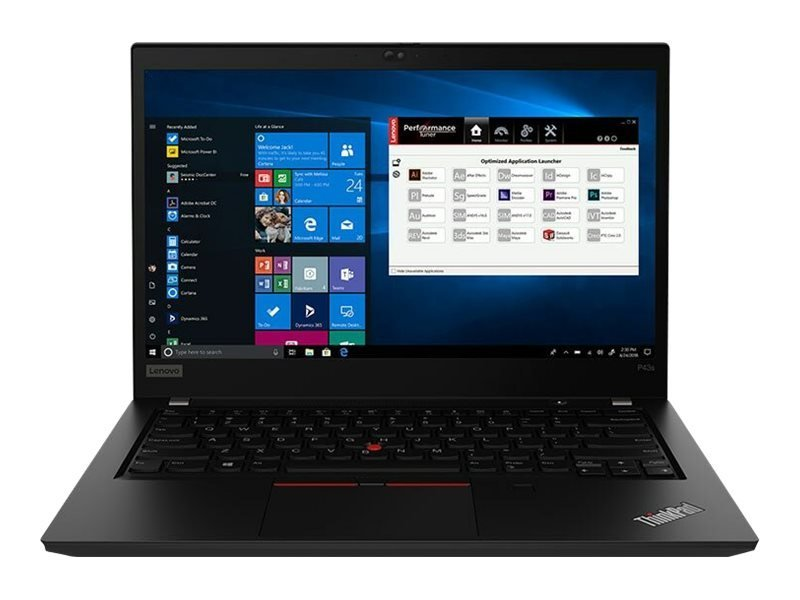 "Lenovo ThinkPad P43s Core i7 16GB 512GB SSD Quadro P520 14"" Win10 Pro Mobile Workstation"