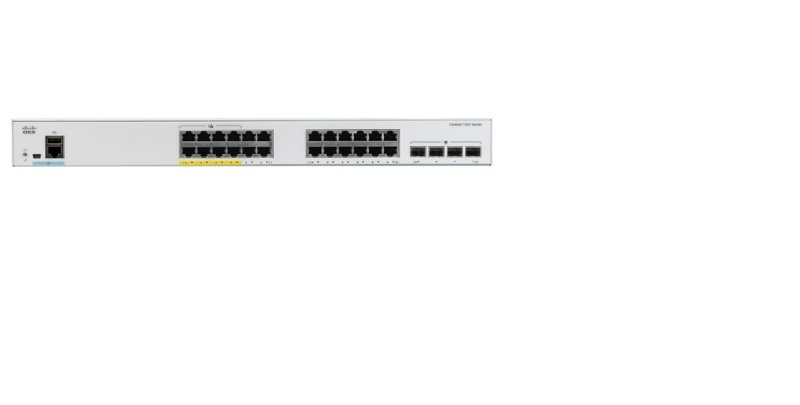 Cisco Catalyst 1000-24T-4X-L - Switch - 24 Ports - Managed - Rack-mountable