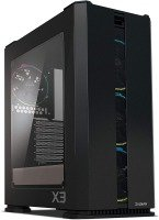 ZALMAN X3 ATX Mid-Tower Case, Tool-Less Side Panels, 4 RGB addressable Fans