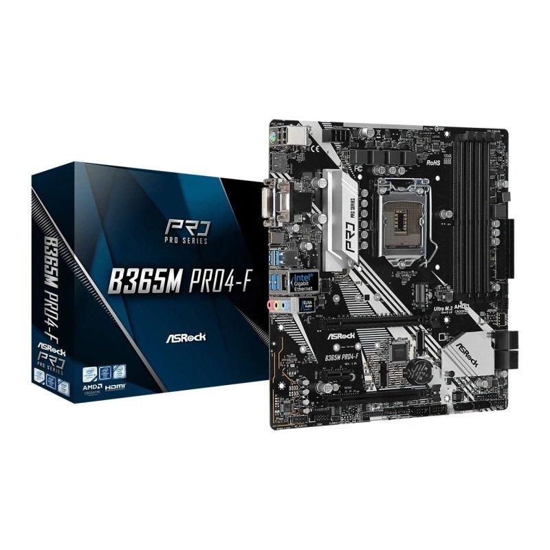 ASRock Intel B365M Pro4-F MicroATX Motherboard