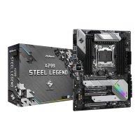 ASRock Intel Core-X X299 Steel Legend ATX Motherboard